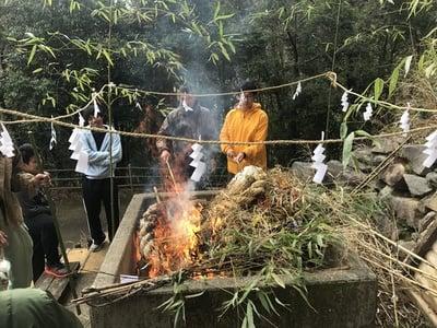 椎葉厳島神社のお祭り