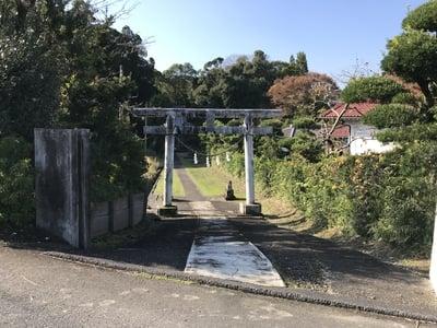八幡宮(千葉県上総亀山駅) - 鳥居の写真
