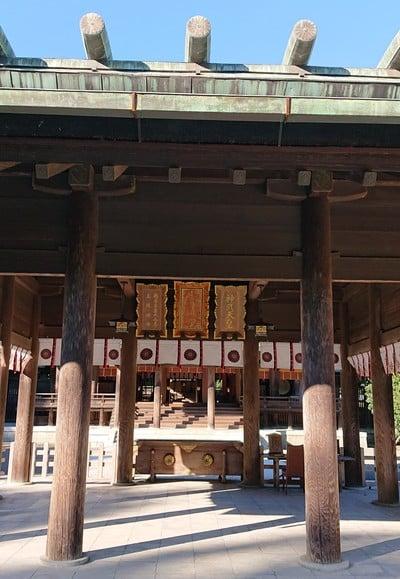 宮崎県宮崎神宮の本殿