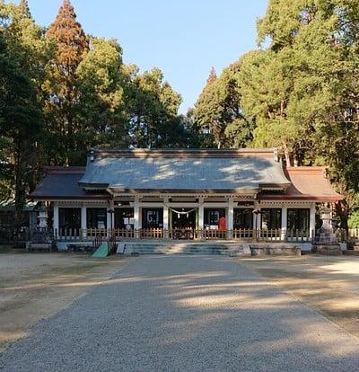 宮崎県護国神社の本殿