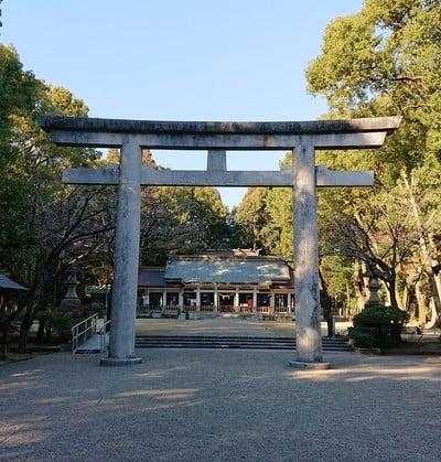 宮崎県護国神社の鳥居
