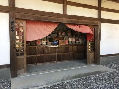 愛知県平野山 聖應寺の本殿