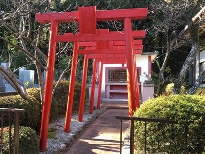 愛知県平野山 聖應寺の鳥居