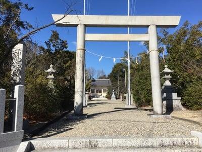 愛知県神明社(西川神明社)の鳥居