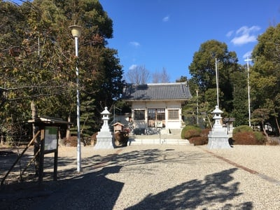愛知県神明社(西川神明社)の写真