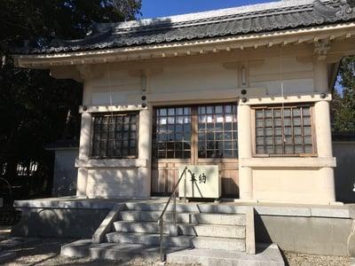 愛知県神明社(西川神明社)の本殿