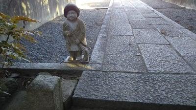 定善寺の像
