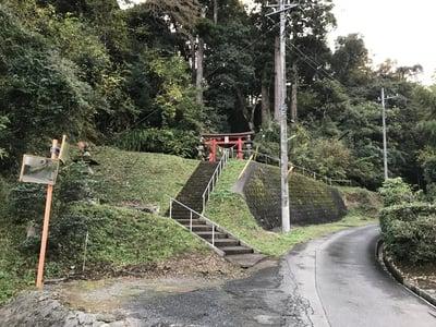 山神社の周辺