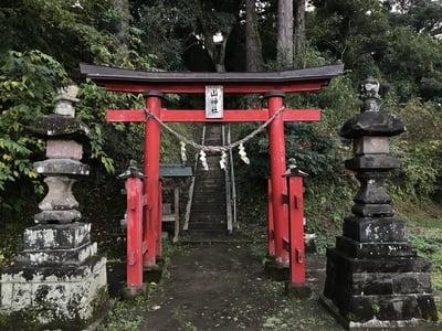 山神社の鳥居