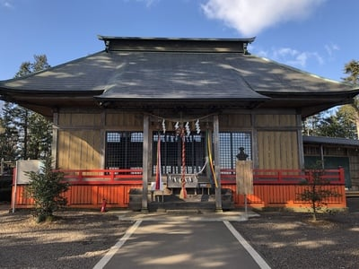 熊野那智神社(宮城県富沢駅) - 本殿・本堂の写真