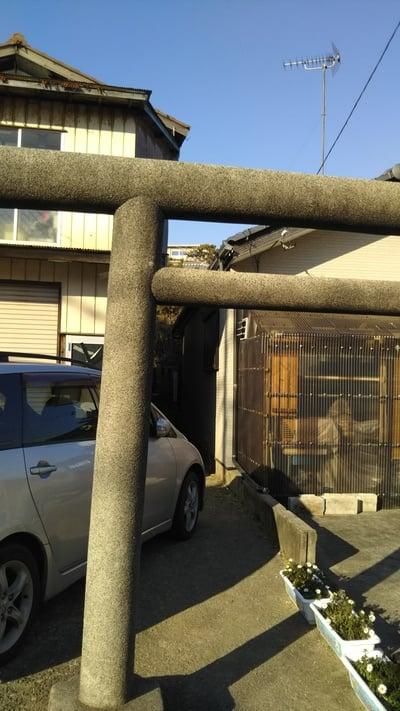 鈴稲荷神社の鳥居