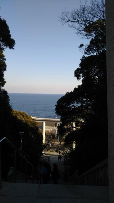 大洗磯前神社の景色