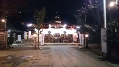 渋谷氷川神社の初詣