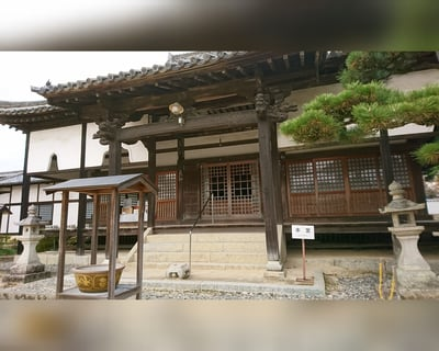 岡山県國分寺の本殿