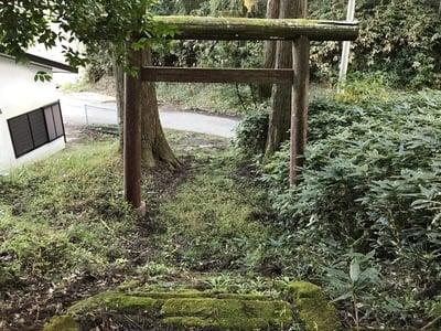 千葉県山神神社の鳥居