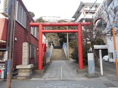 神奈川県大綱金比羅神社の鳥居
