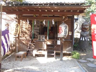 神奈川県大綱金比羅神社の本殿