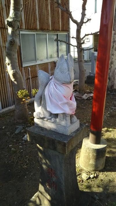 鹿嶋神社の近くの神社お寺|土佐稲荷神社