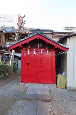 東京都下稲荷神社の写真
