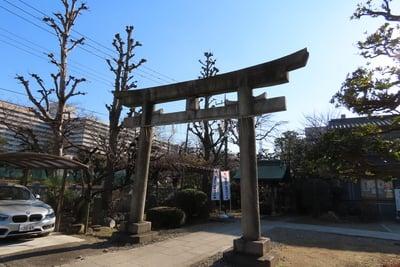 東京都隅田川神社の鳥居