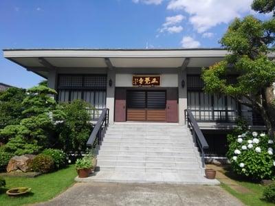 東京都正覺寺の本殿