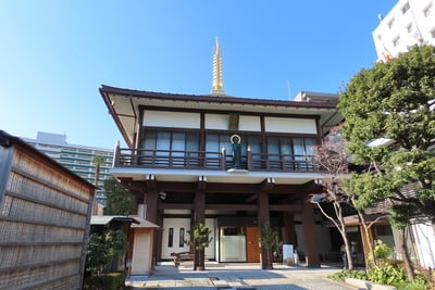 東京都正福寺の本殿
