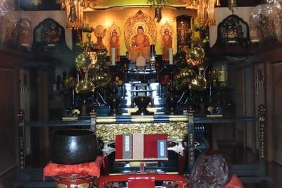 円徳寺の仏像