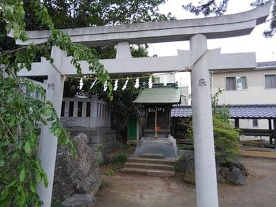 大曽根八幡神社の鳥居