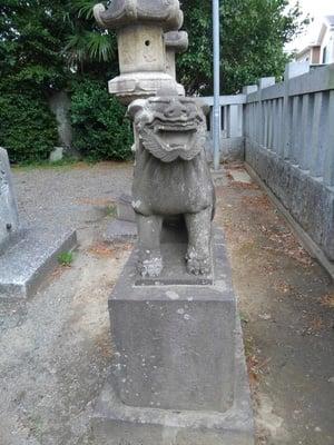 大曽根八幡神社の狛犬