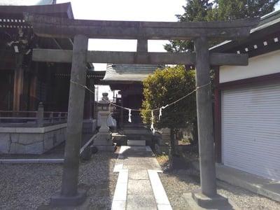 東京都水元神社の鳥居