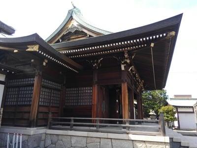 東京都水元神社の本殿