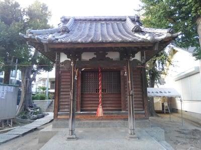 東京都八幡神社の写真