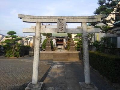 東京都上品寺の鳥居