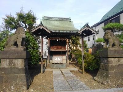 東京都上品寺の末社