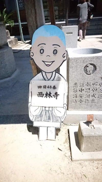 愛媛県西林寺の写真