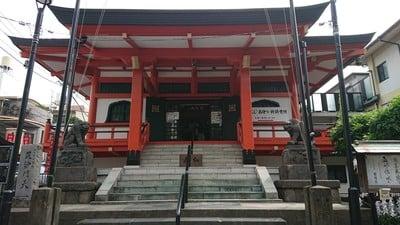 東京都善國寺の本殿