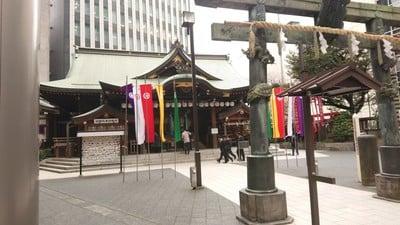 東京都虎ノ門金刀比羅宮の本殿