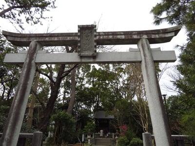 神奈川県寒川神社の鳥居