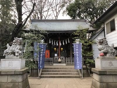 東京都神明氷川神社の本殿