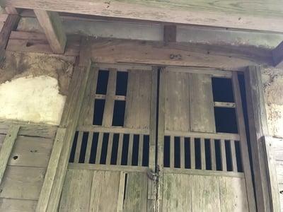千葉県神社(名称不明)の本殿