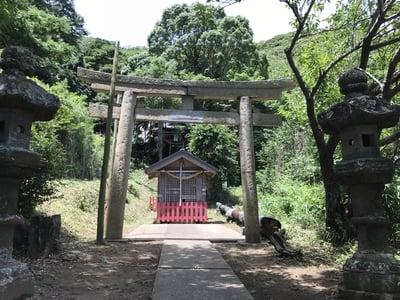 千葉県三柱神社の鳥居
