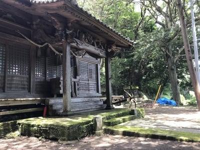 千葉県三柱神社の本殿