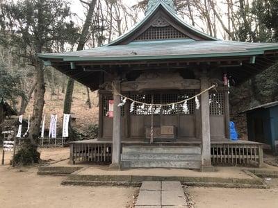 東京都大麻止乃豆乃天神社の本殿