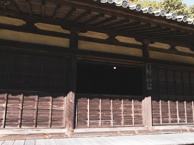 禅瀧寺の本殿