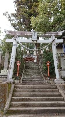大分県御手洗神社の鳥居