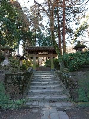 神奈川県浄智寺の山門