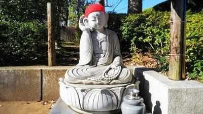 埼玉県光蔵寺の地蔵