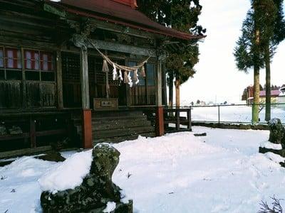 岩手県新山神社の建物その他