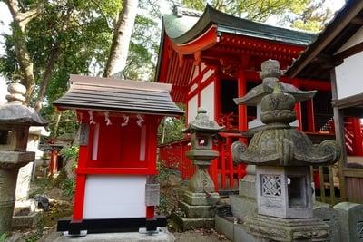 元石清水八幡神社(奈良県)