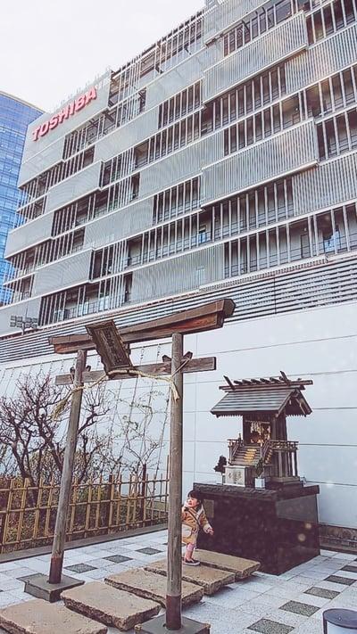 神奈川県ラゾーナ川崎4F·出雲神社の本殿